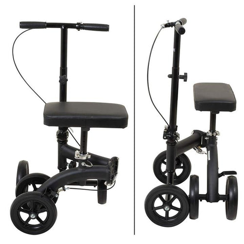 Foldable wheel scooter