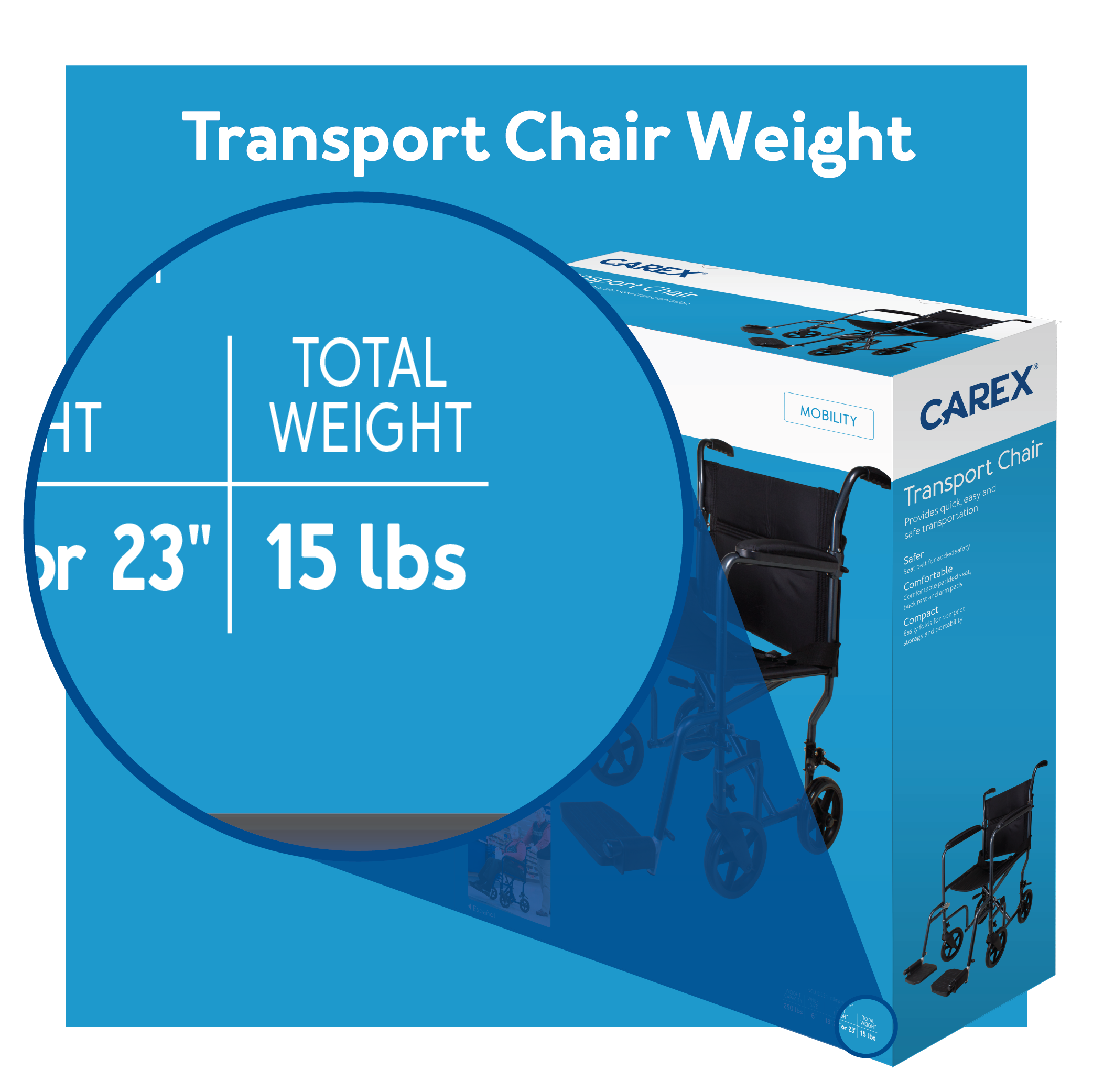 Transport Chair Weight