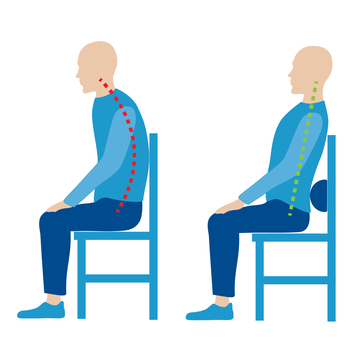 The right support cushion can help improve your posture