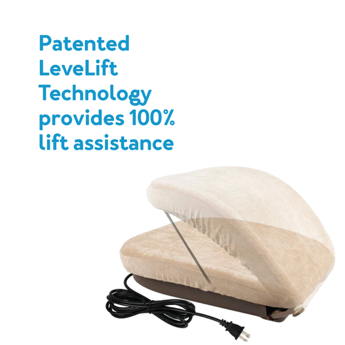 Patented LeveLift Technology provides 100% lift assistance
