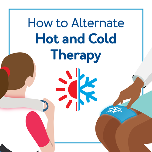 How to Alternate Hot and Cold Therapy