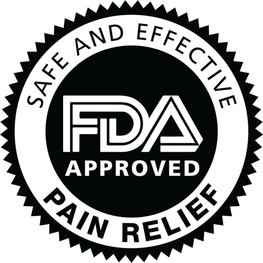 FDA Approved Pain Relief