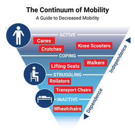 The Continuum of Mobility: A Guide to Decreased Mobility