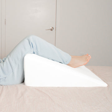 Wedge pillow for elevating legs