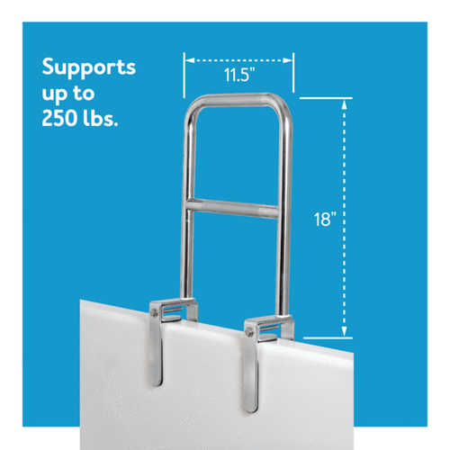 Tub support handle
