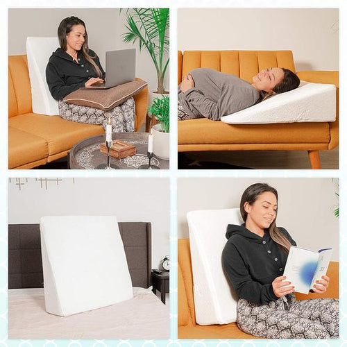 Bed Buddy Wedge Pillow for sleeping