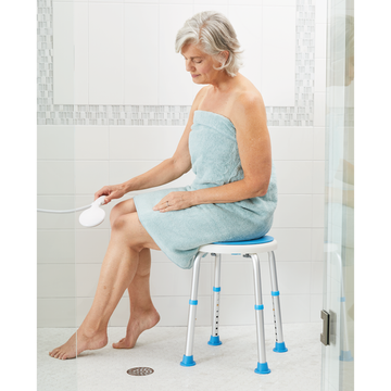 Aging gracefully tips: Balance aids for bathroom safety