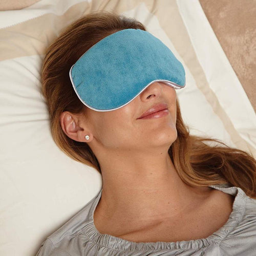 Bed Buddy Relaxation Masks for pain relief, sinus pressure relief, and migraine pain relief