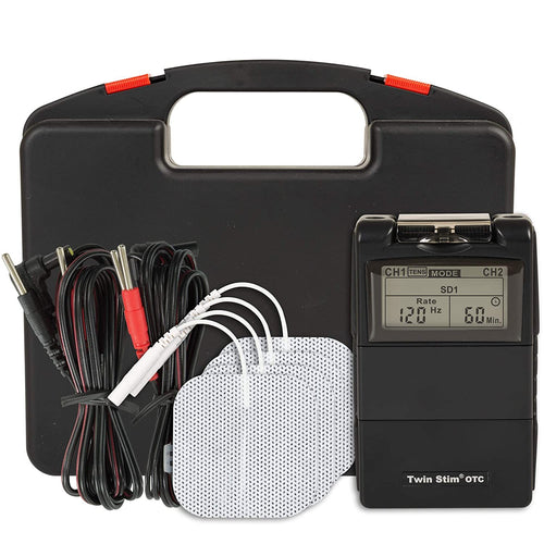 What's included with the Twin Stim TENS EMS Unit