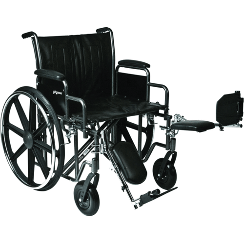 Extra large wheelchair