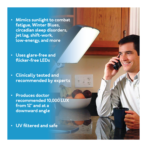 Day-Light Sky Light Therapy Lamp