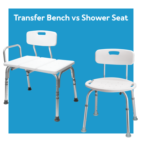Transfer Benches vs Shower Chairs