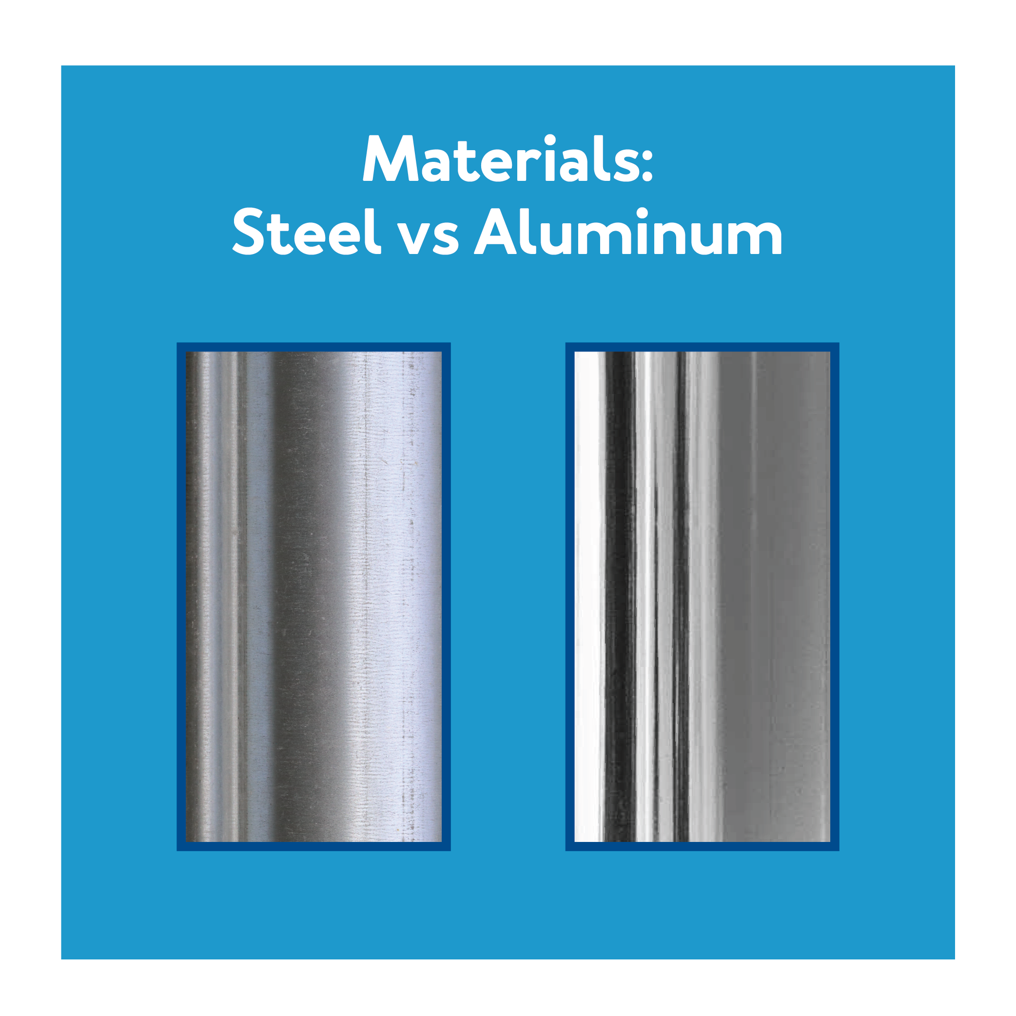 Transport Chair Materials: Steel vs Aluminum