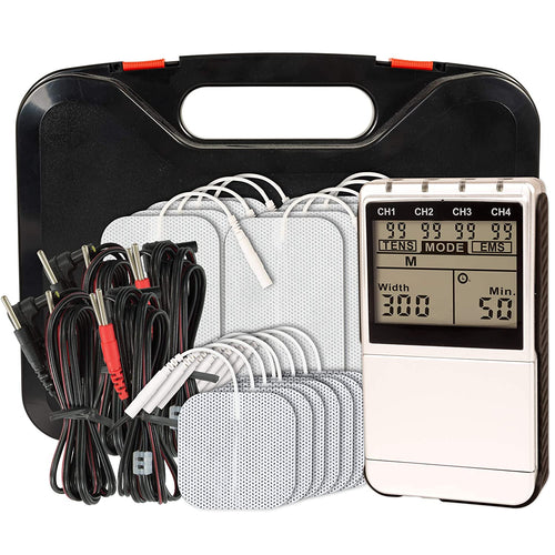 Over the counter Twin Stim Plus Digital TENS and EMS muscle stimulator