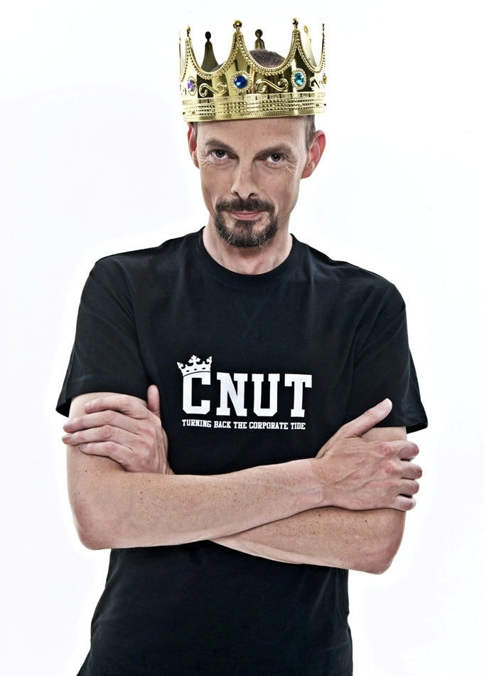 Dave Griffiths King Cnut C U in Court Edinburgh Fringe Brighton Fringe See You in Court FCUK French Connection French Correction
