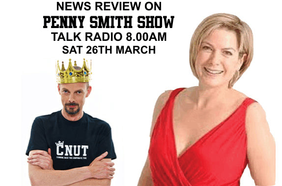Dave Griffiths King Cnut Penny Smith Talk Radio