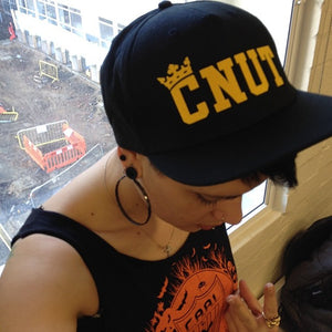 King Cnut Crown Trucker Cap