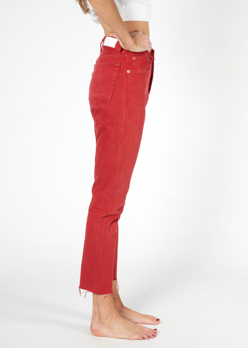 Red Denim Jeans