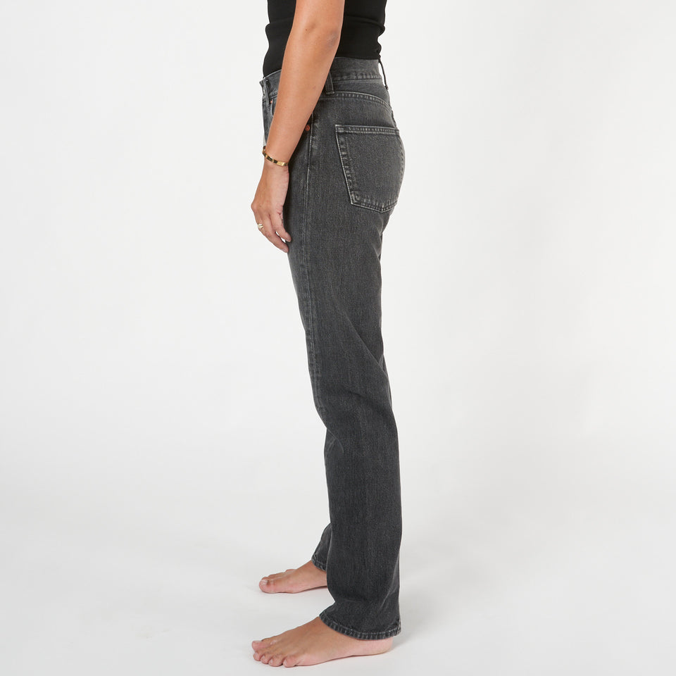 Twisted Leg Denim Jeans