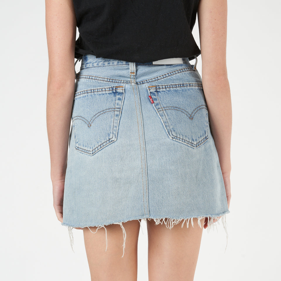 High Rise Levi's Mini Skirt