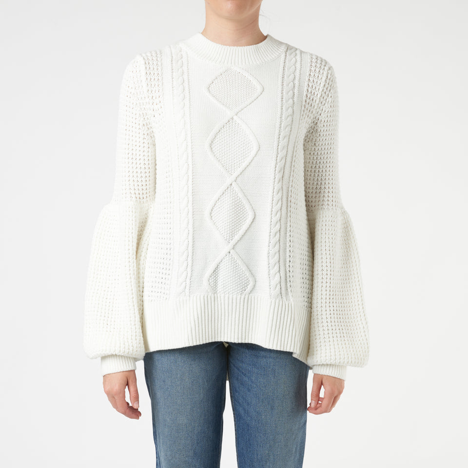 Grafton Balloon Sleeve Jumper