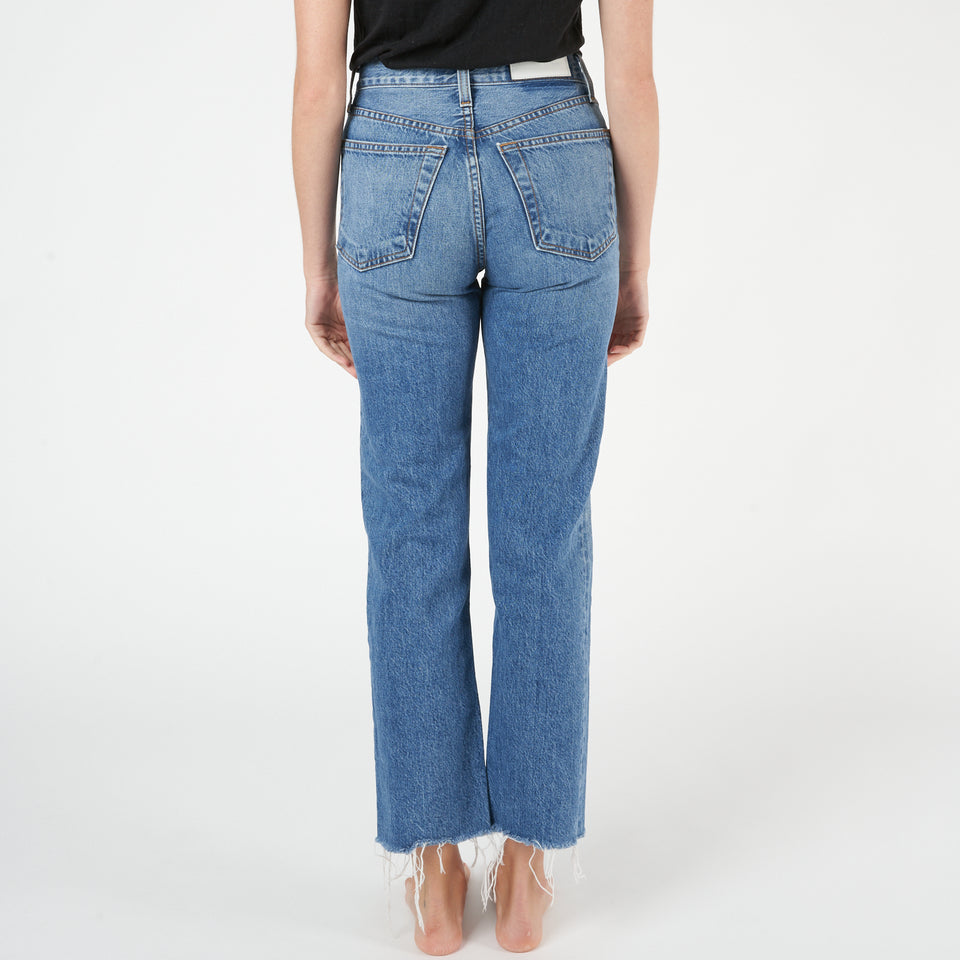 Originals High-Rise Ankle Crop Jeans