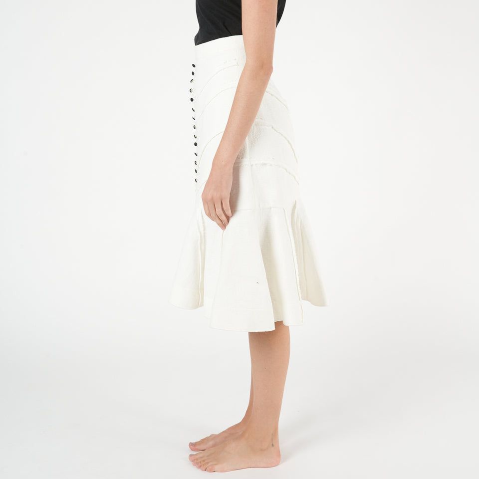 Fishtail Midi Skirt