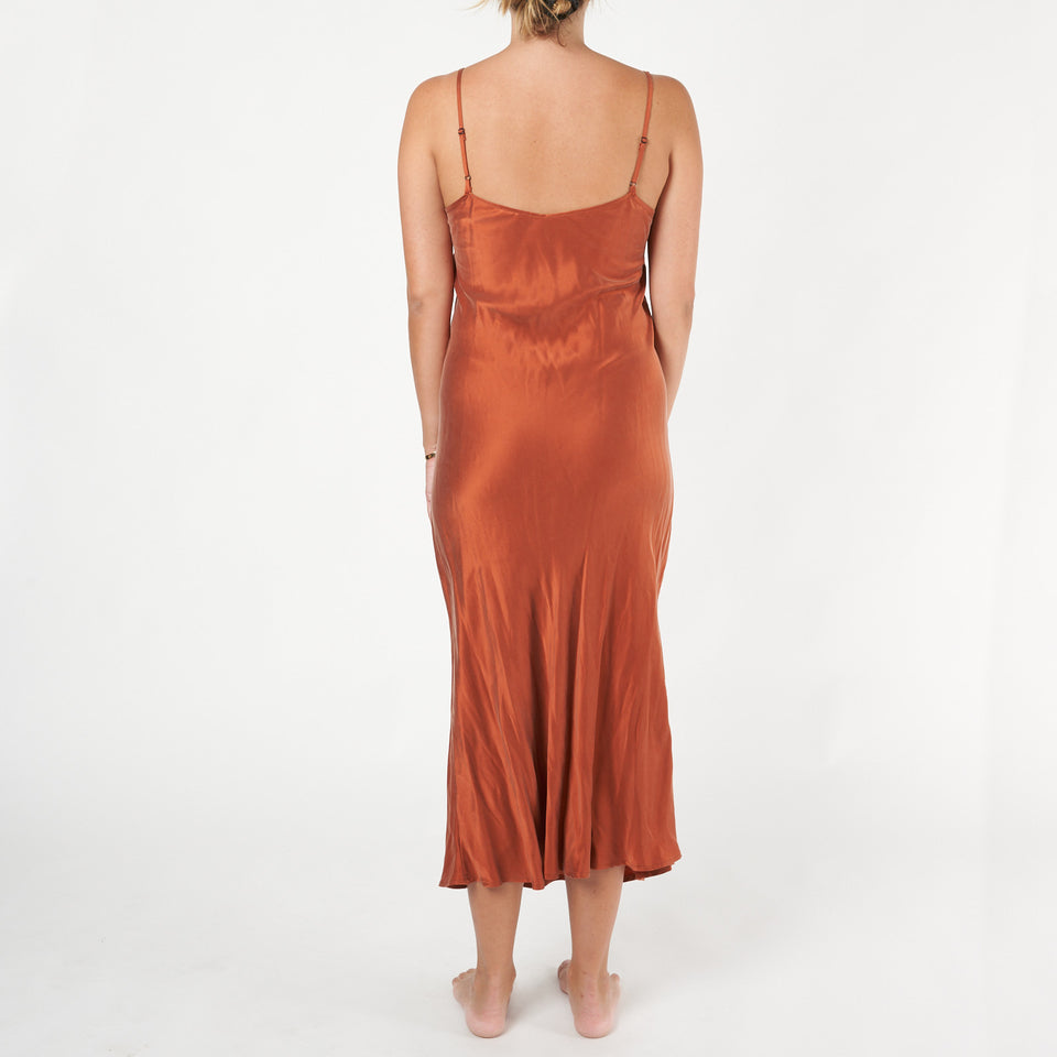 90s Silk Slip Dress