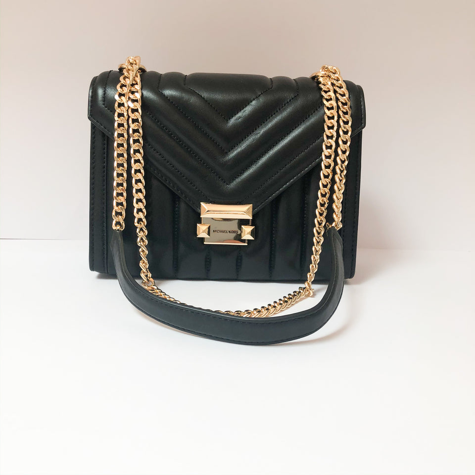 Whitney Large Quilted Leather Bag