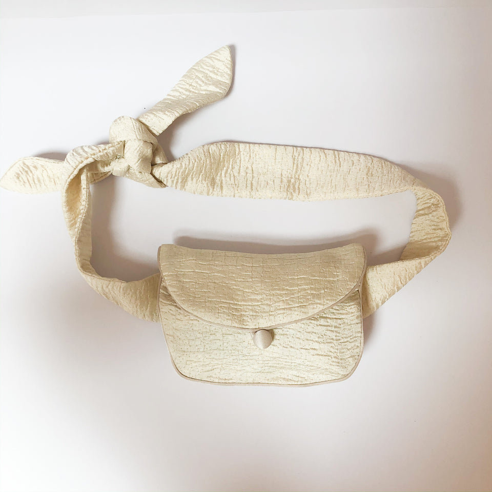 Satin Belt Bag