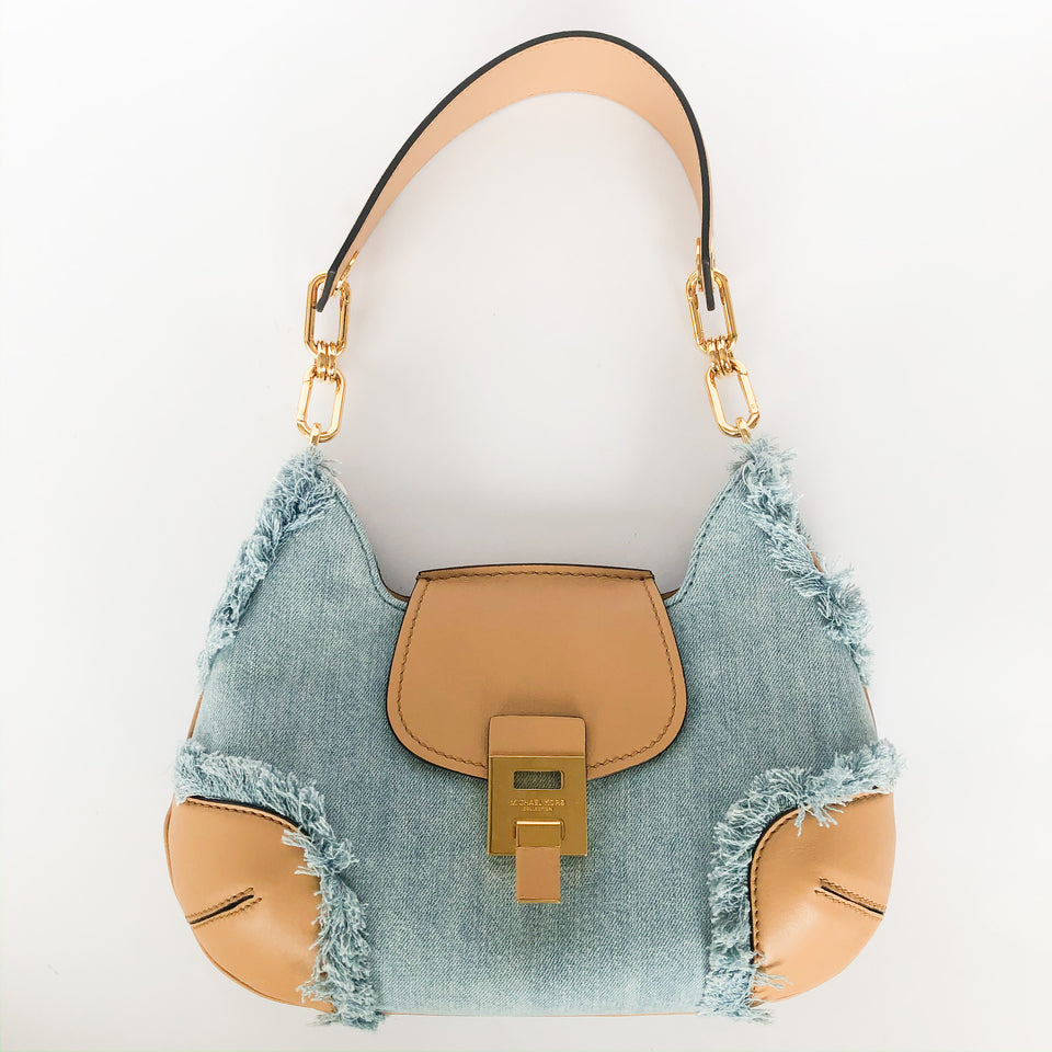 Bancroft Medium Chambray Shoulder Bag