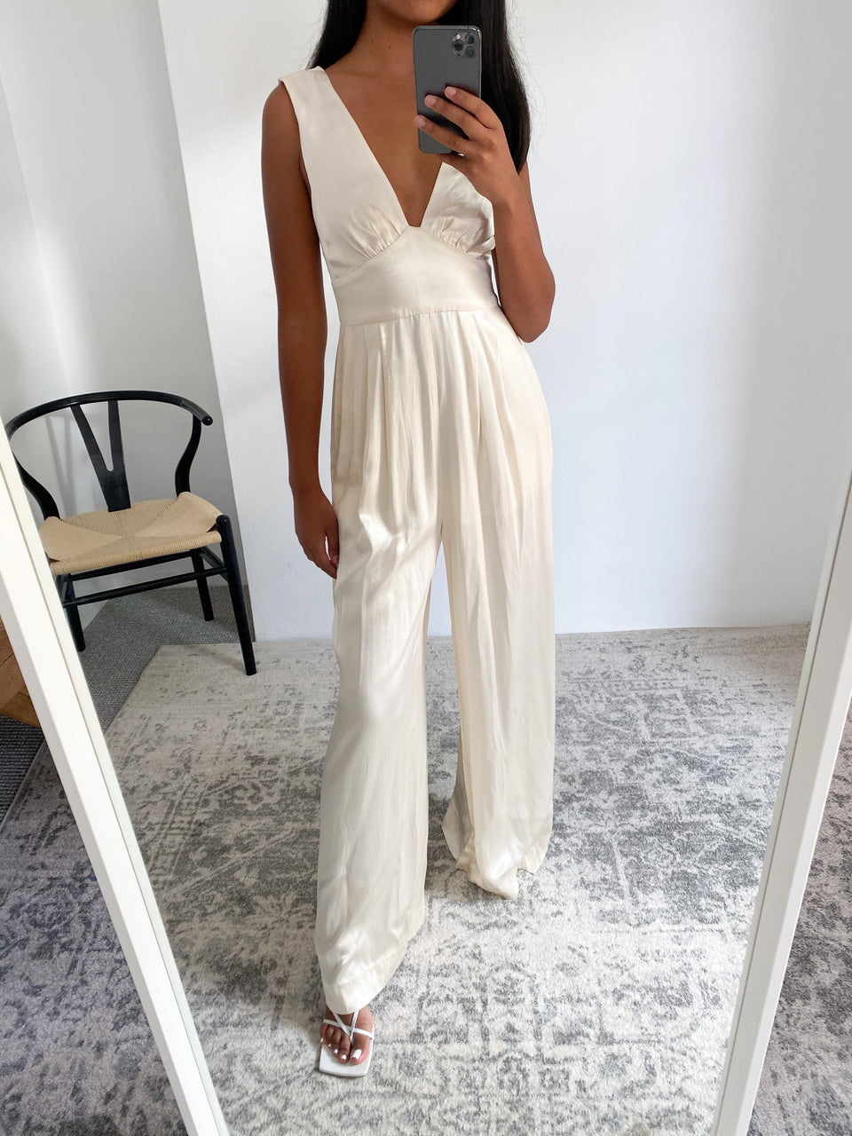 Plunged Jumpsuit