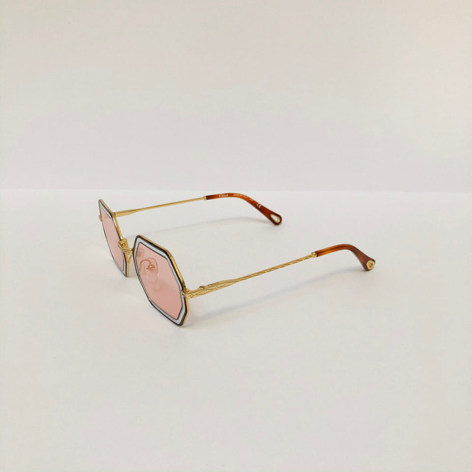 Tally Rectangular Sunglasses