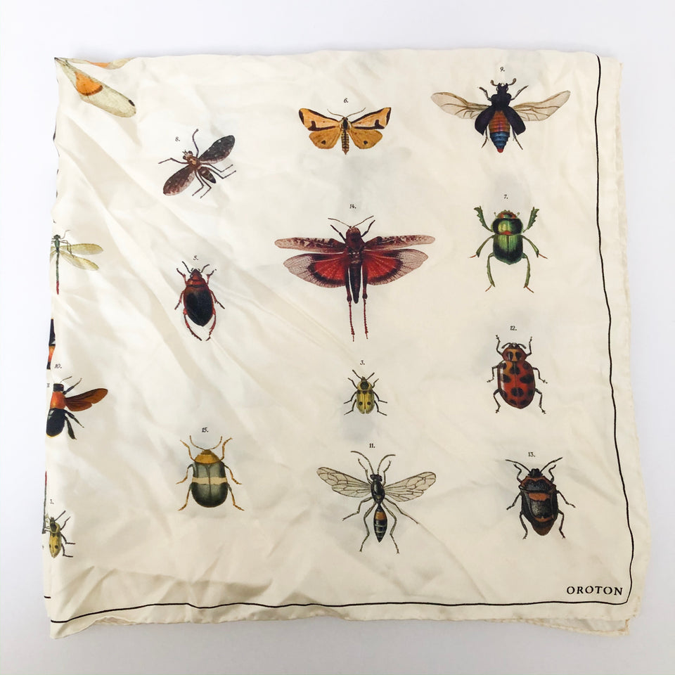 Insect Silk Scarf
