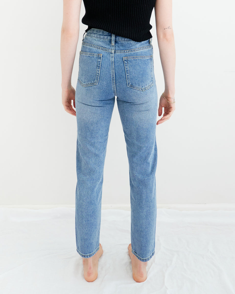 Straight Leg Denim