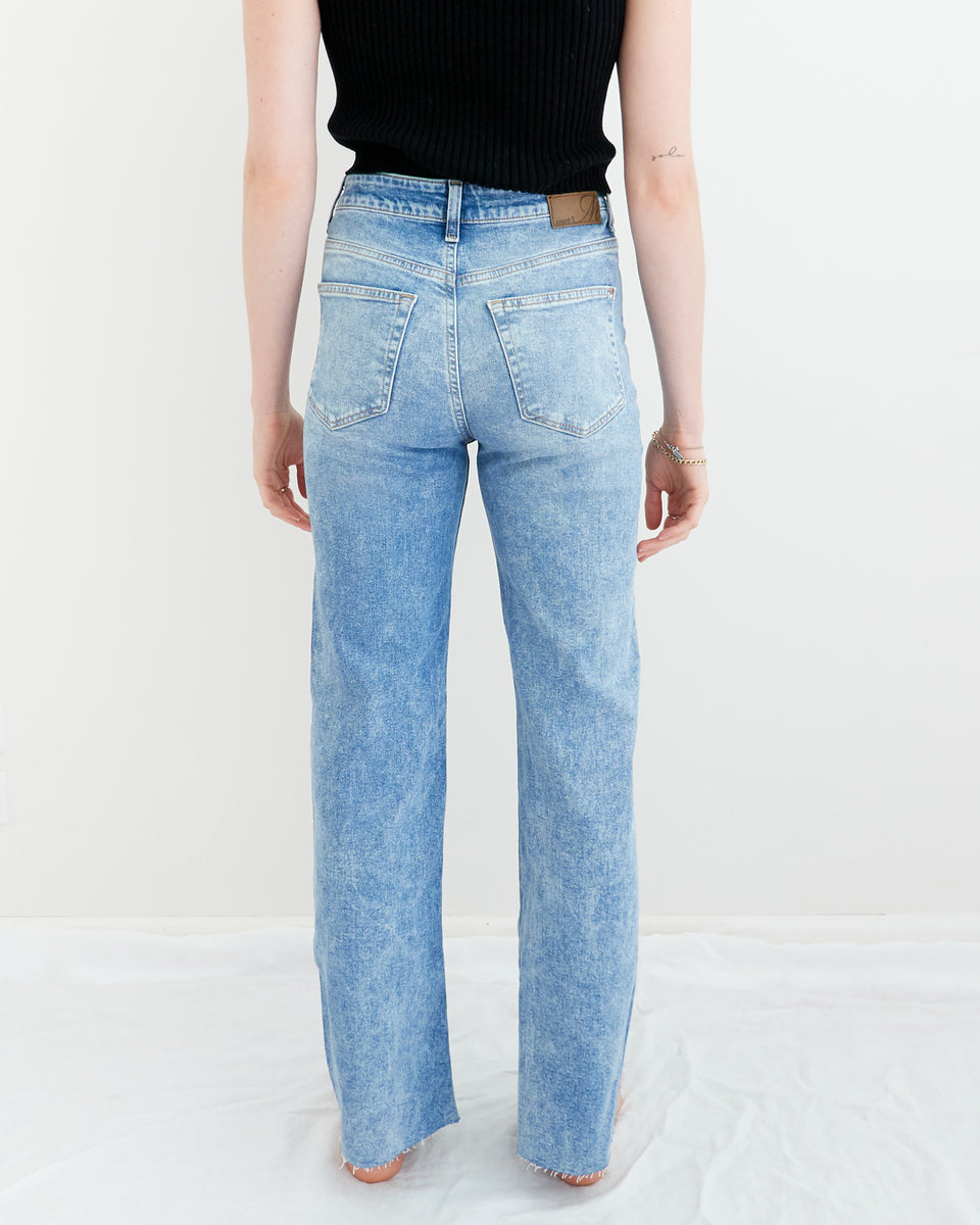 Victoria High-Rise Wide Straight Jean