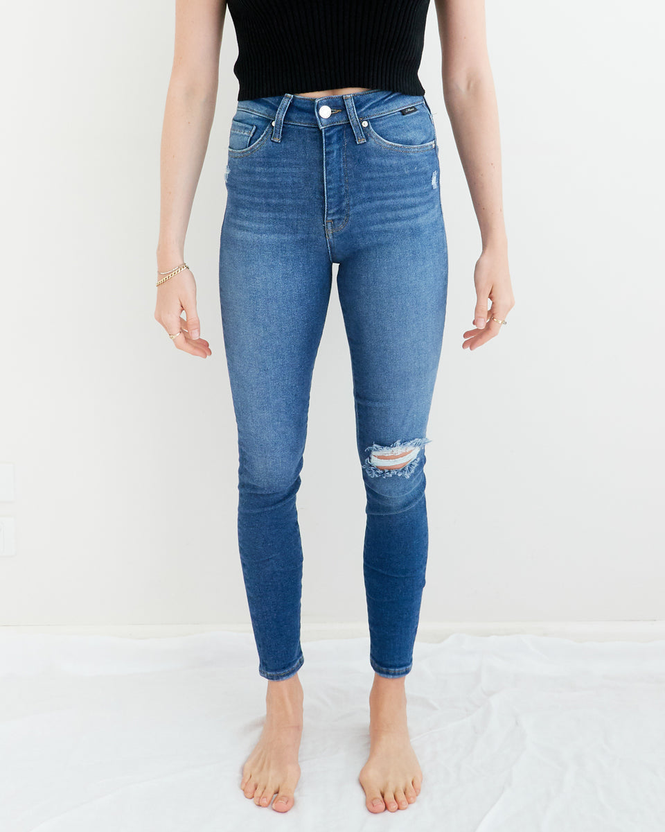 Scarlet Super-High Rise Jean