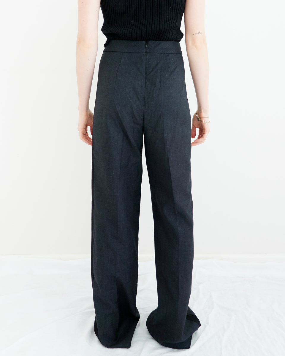 Off Black Trousers