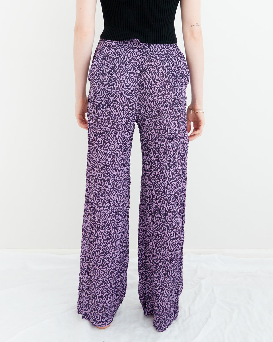 Kisa Animal Print Trousers