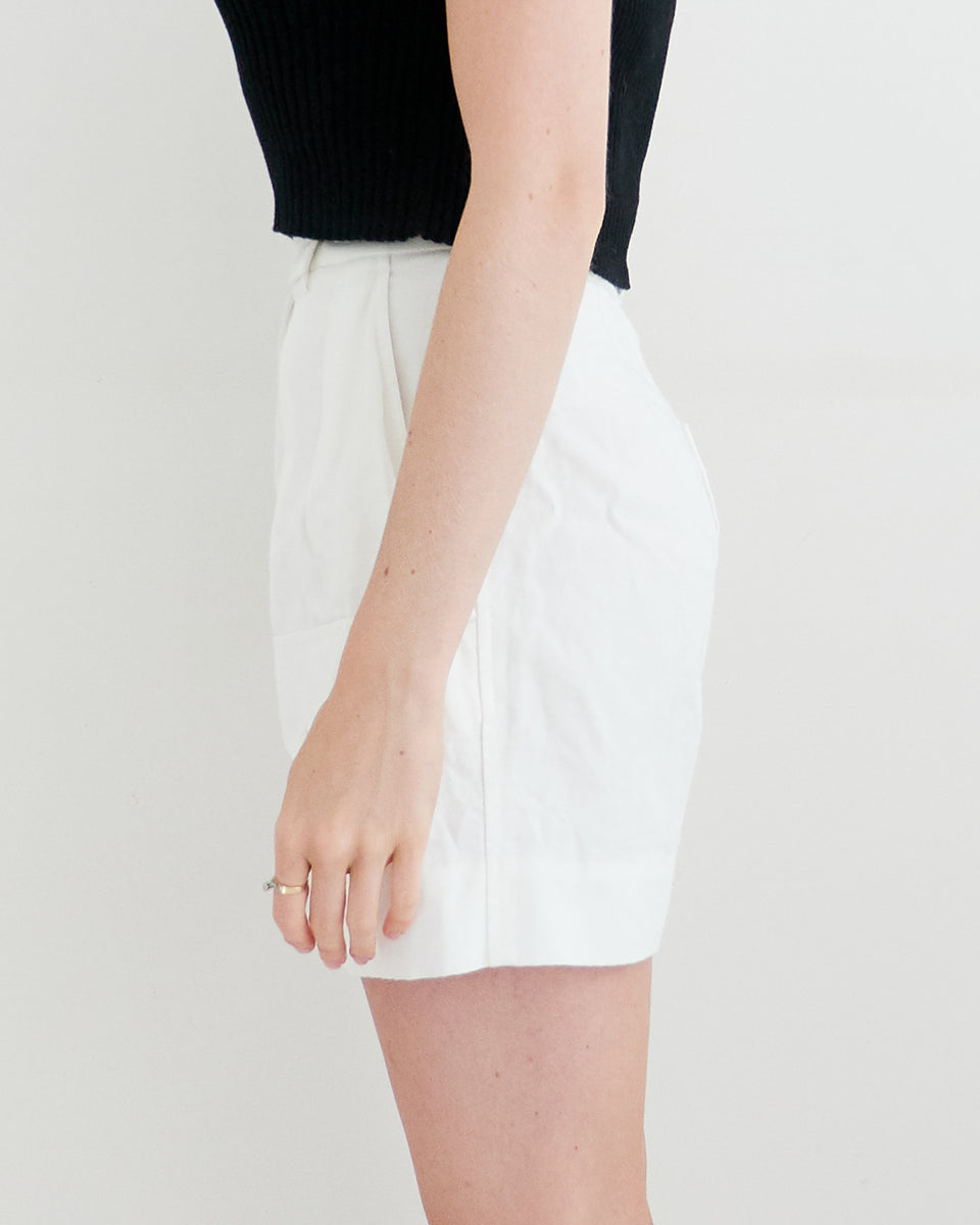 High-Waisted Utility Short