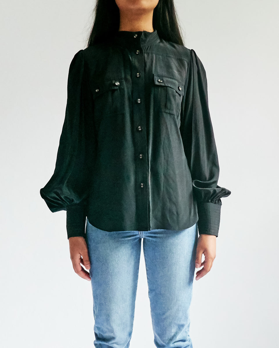 Espionage Silk Utility Shirt
