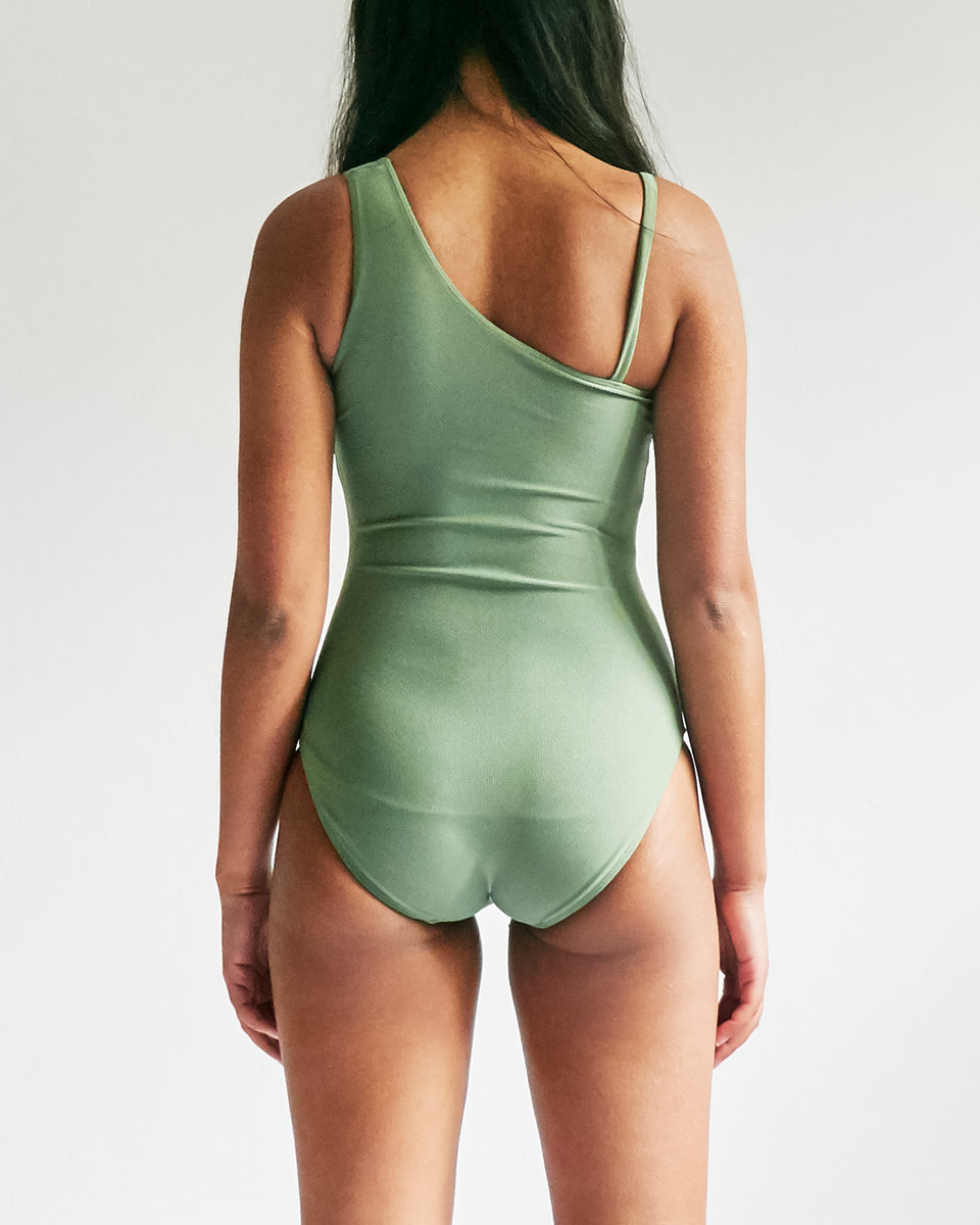 One Shoulder One-Piece