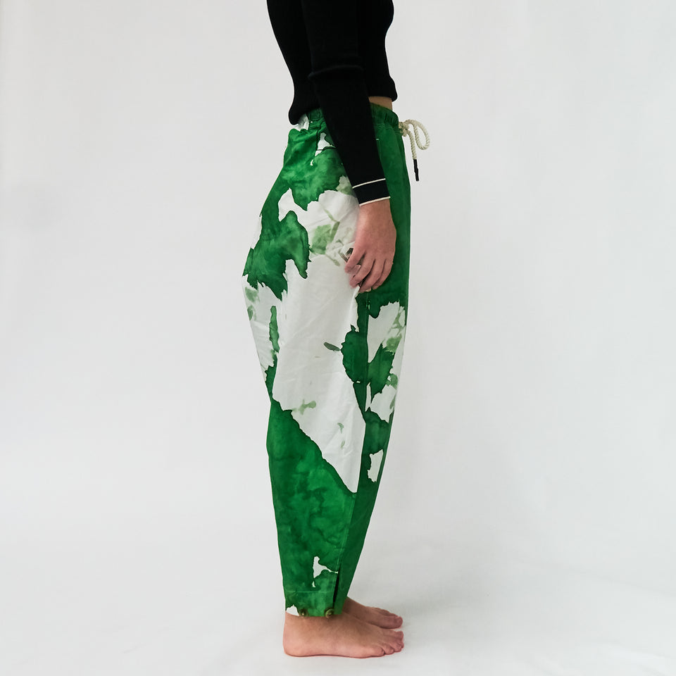 Tie-Dye Cotton Track Pants