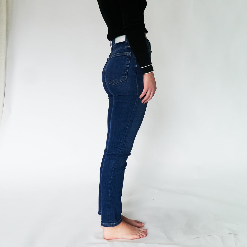 Originals High-Rise Straight Skinny-Leg Jeans