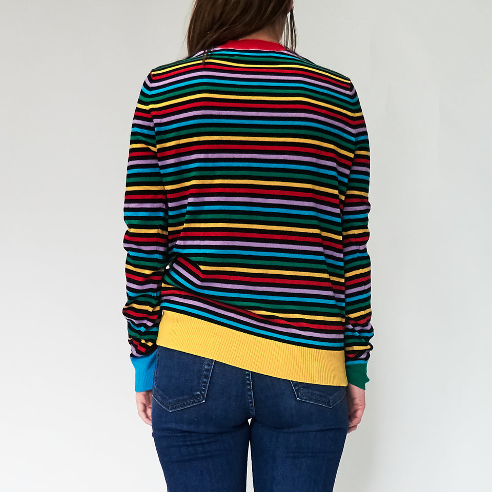Stripe Boyfriend Knit