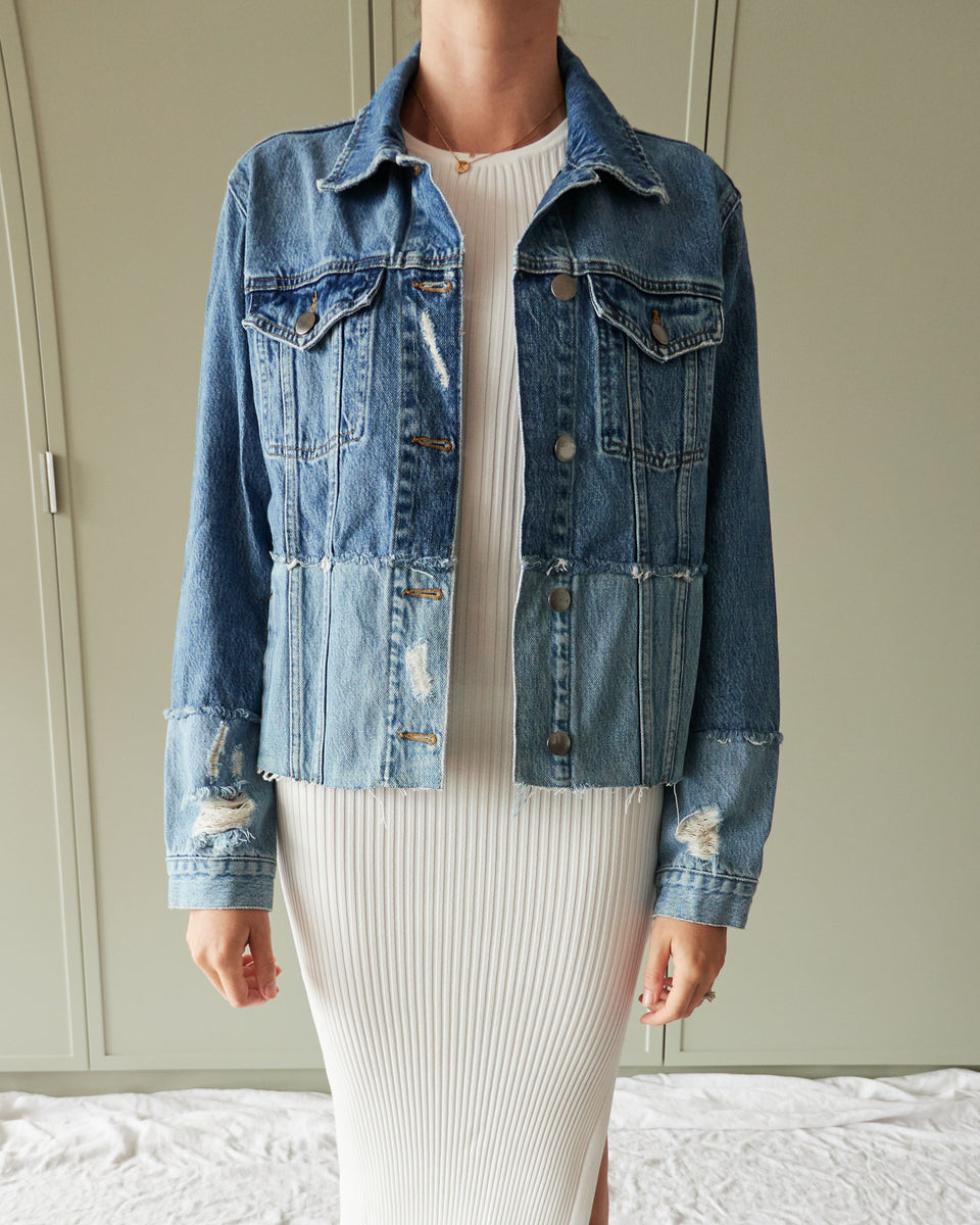 Le Original Jacket Crop Mended