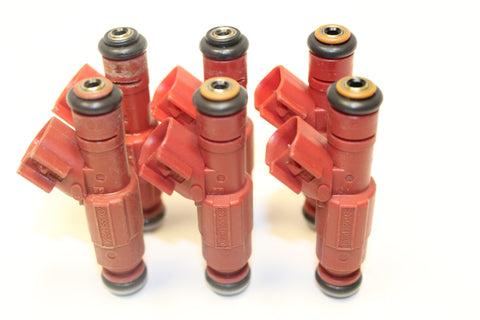 Set of 6 Rebuilt 2000 - 2003 Genuine OEM Bosch 0280155934 53031740AA 3.9L Dodge Fuel Injectors