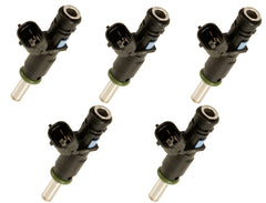 Set of 5 Rebuilt 2007 - 2014 Genuine OEM Volkwagen Siemens 07K906031C 2.5L VW Fuel Injectors