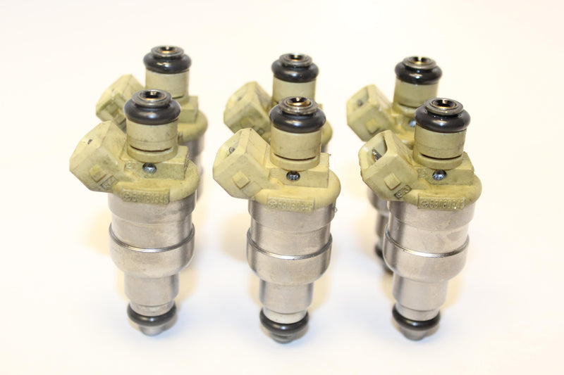 Set of 6 Rebuilt 1994 - 1995 Genuine OEM Siemens Jeep 53030343 Fuel Injectors