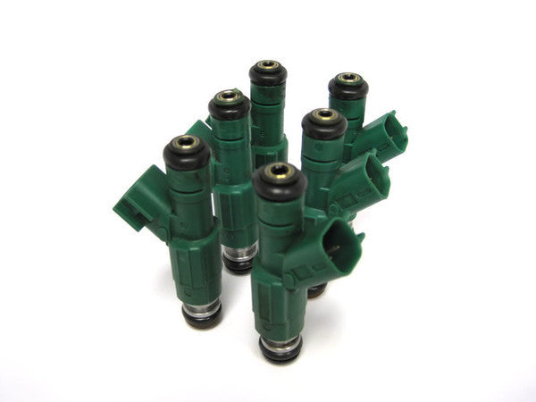 Bosch 3rd Generation 4 Hole Upgrade Fuel Injectors for 1999 - 2006 Jeep 4.0L Engines